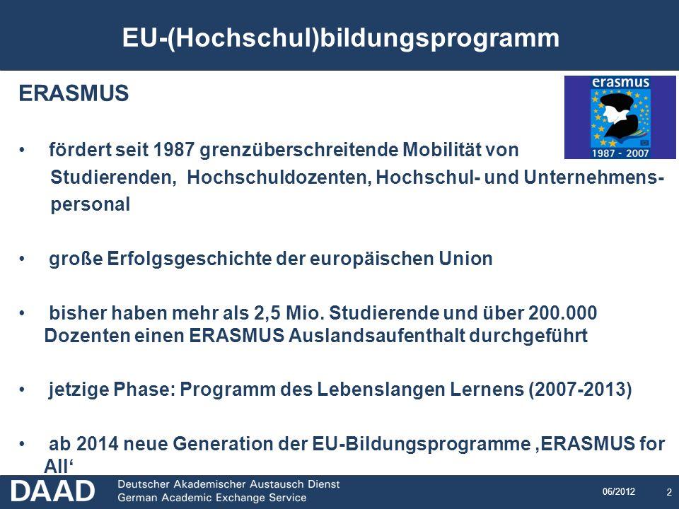 EU-(Hochschul)bildungsprogramm