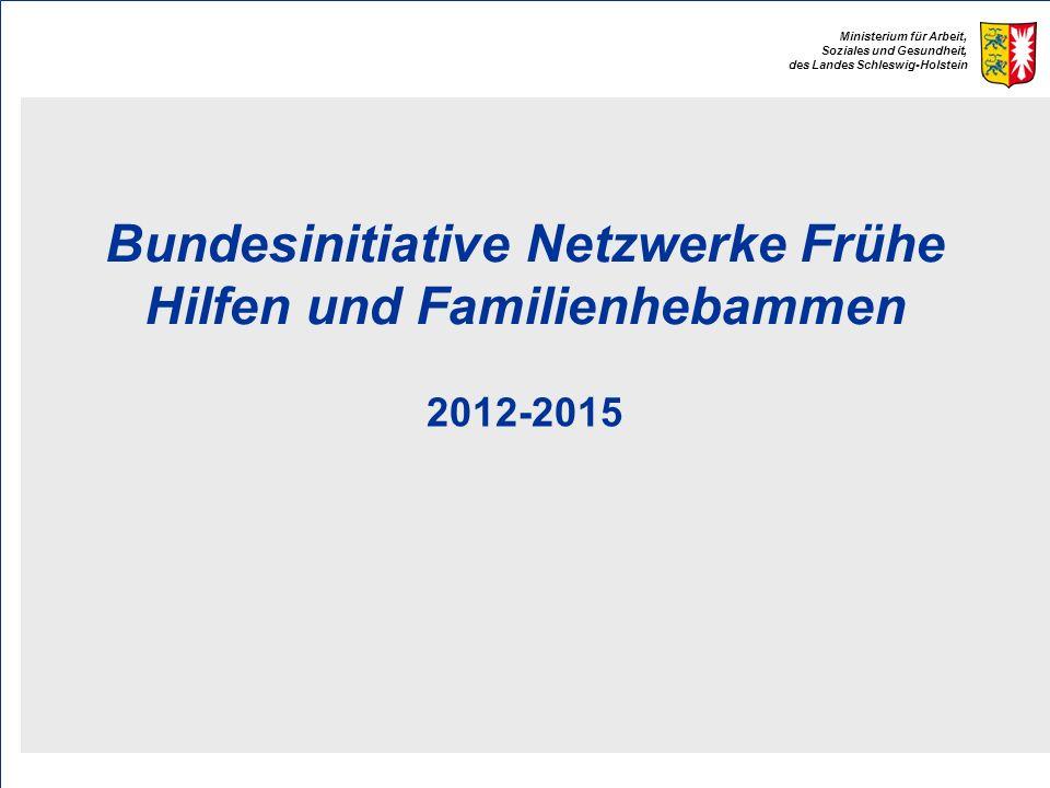 Bundesinitiative Netzwerke Frühe Hilfen und Familienhebammen