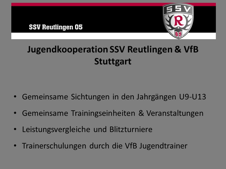 Jugendkooperation SSV Reutlingen & VfB Stuttgart