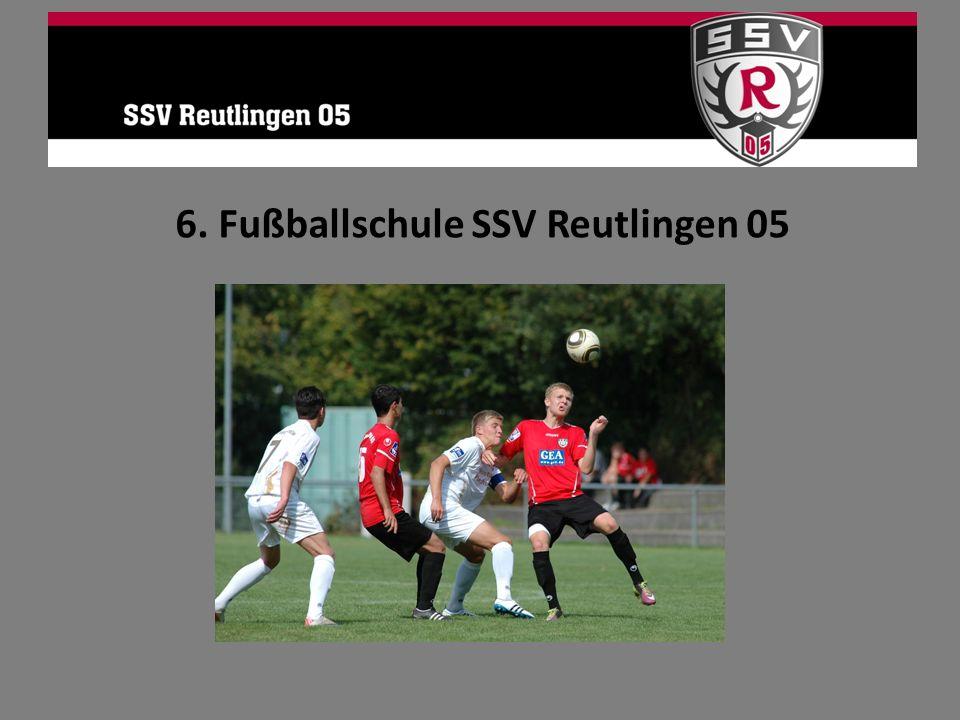 6. Fußballschule SSV Reutlingen 05