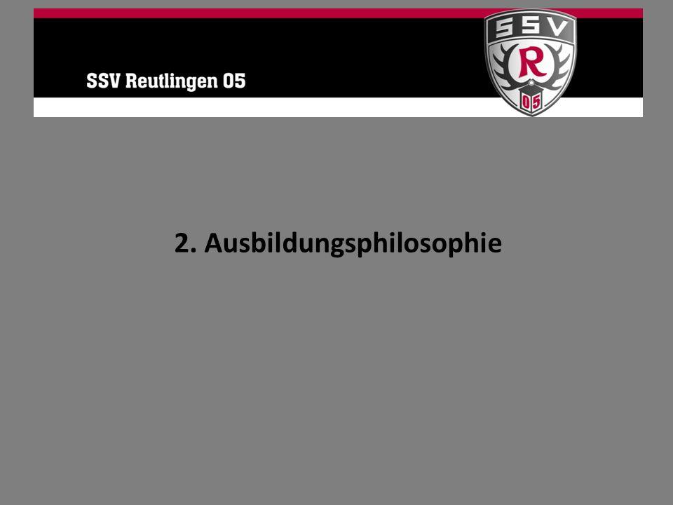 2. Ausbildungsphilosophie