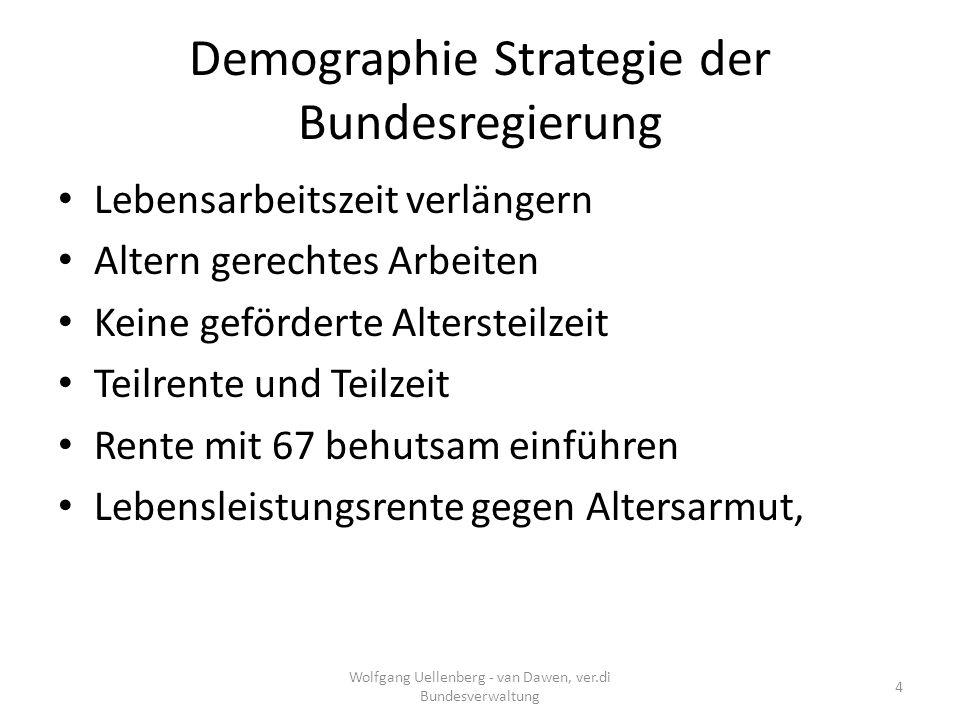 Demographie Strategie der Bundesregierung