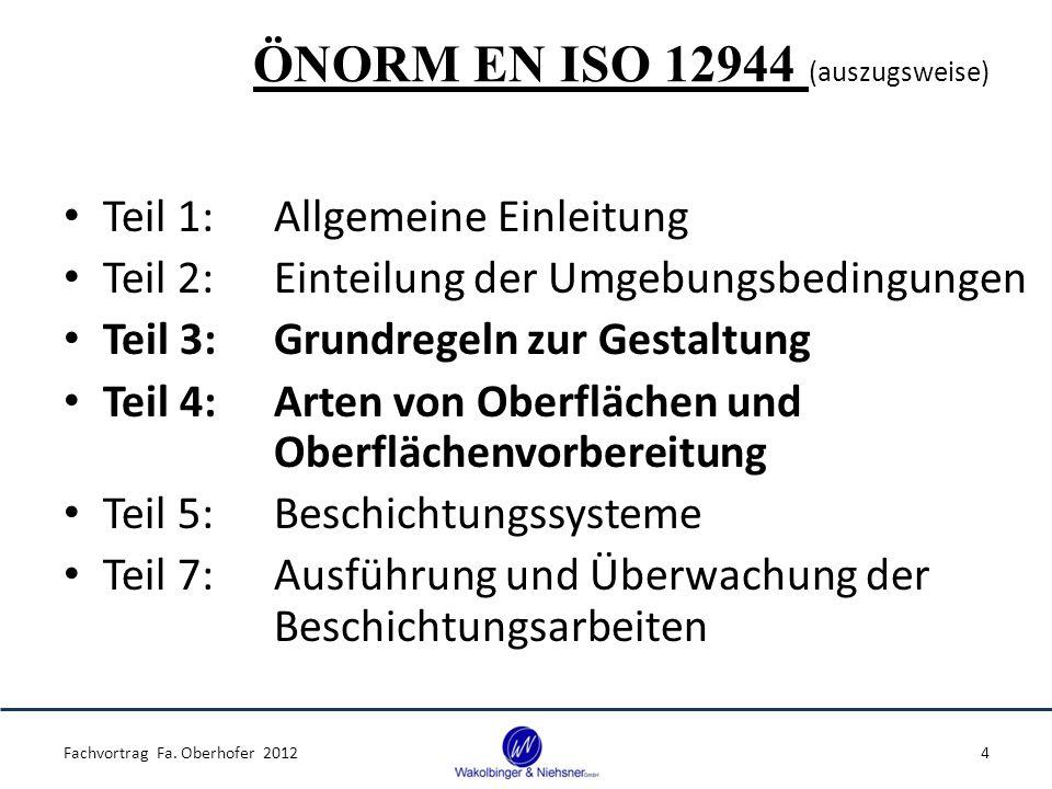 ÖNORM EN ISO 12944 (auszugsweise)
