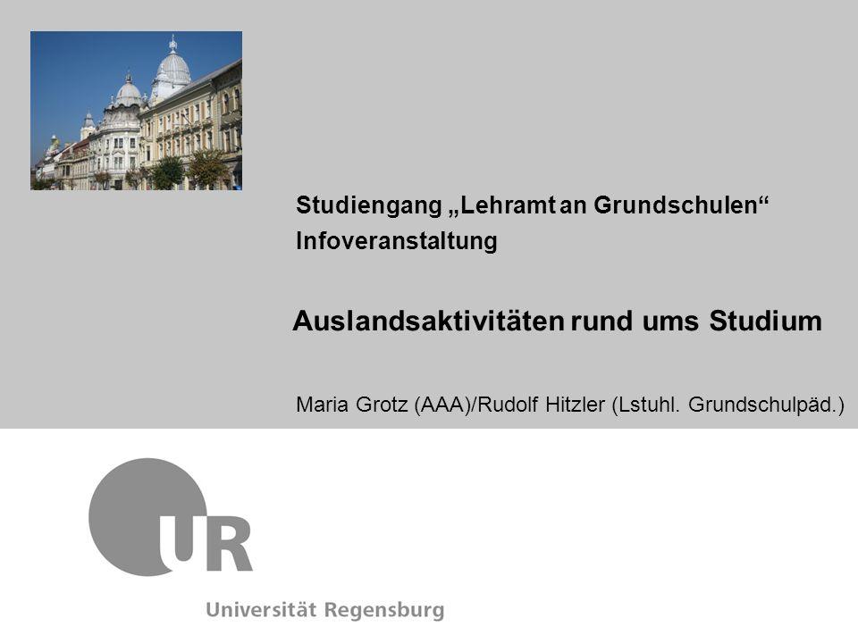 """Studiengang """"Lehramt an Grundschulen Infoveranstaltung"""
