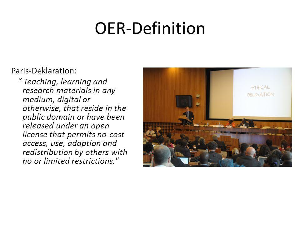 OER-Definition