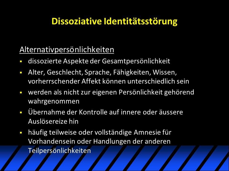 Dissoziative Identitätsstörung