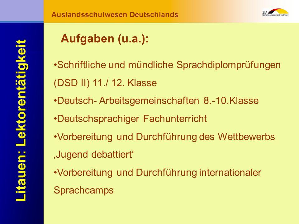 Auslandsschulwesen Deutschlands