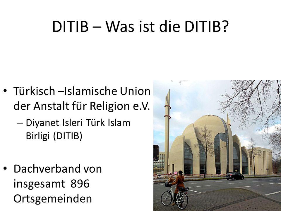 DITIB – Was ist die DITIB