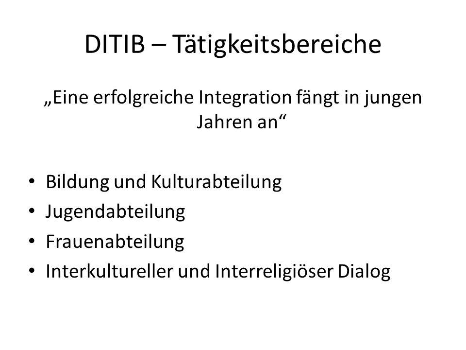 DITIB – Tätigkeitsbereiche