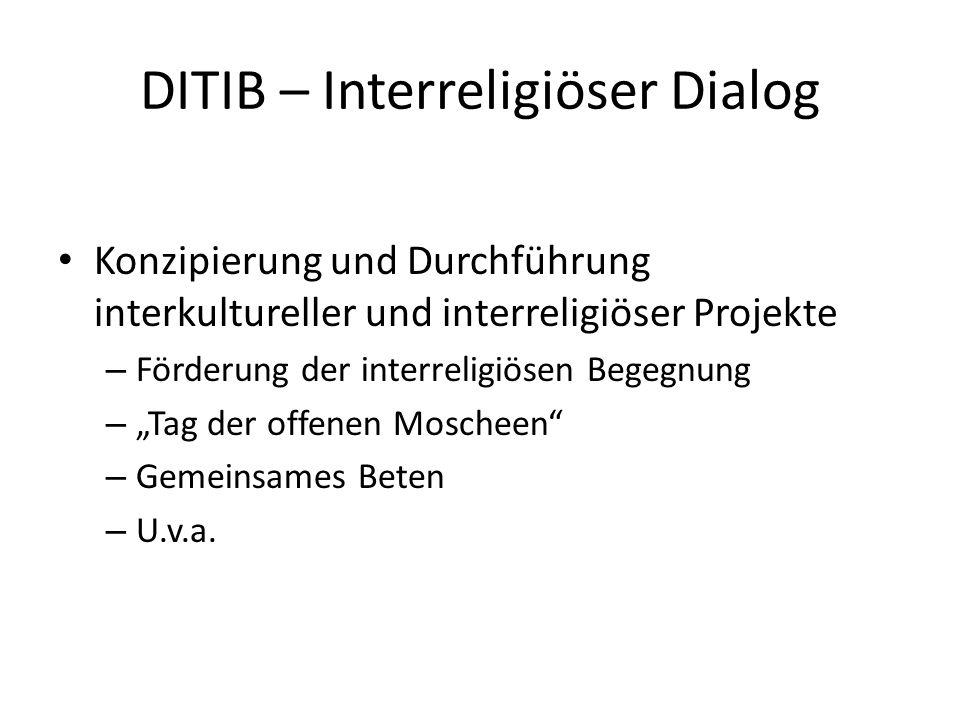 DITIB – Interreligiöser Dialog