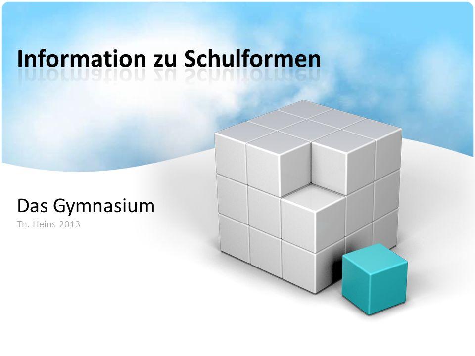 Information zu Schulformen