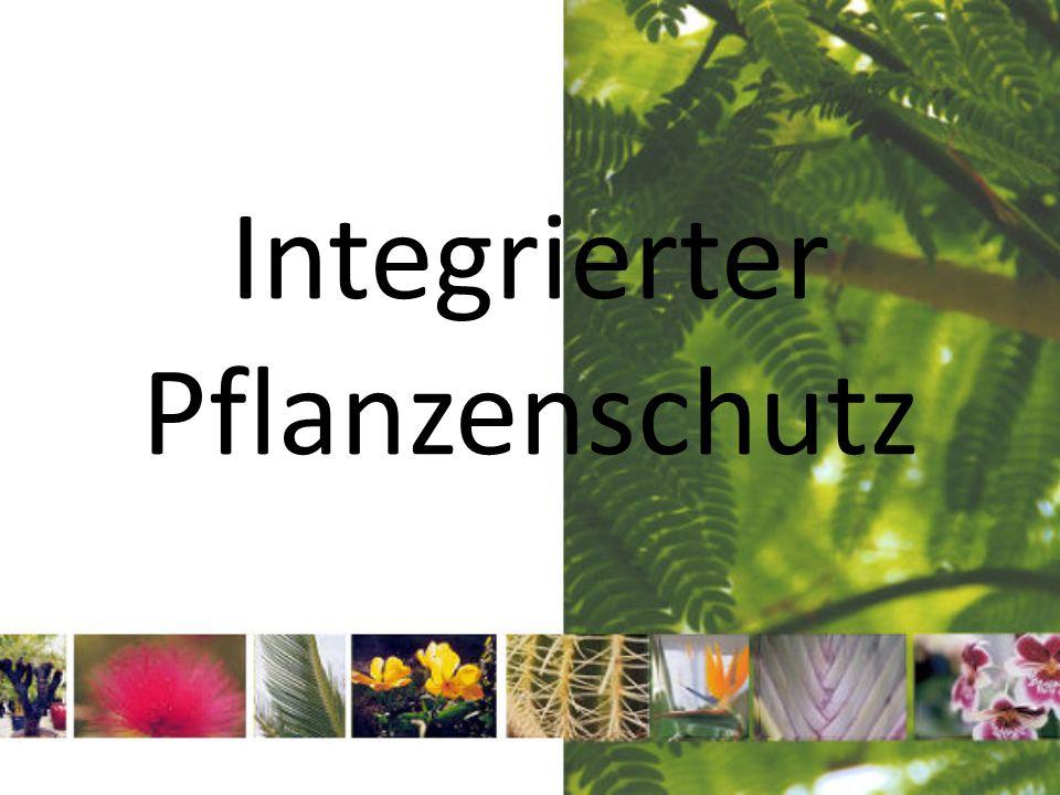 Integrierter Pflanzenschutz