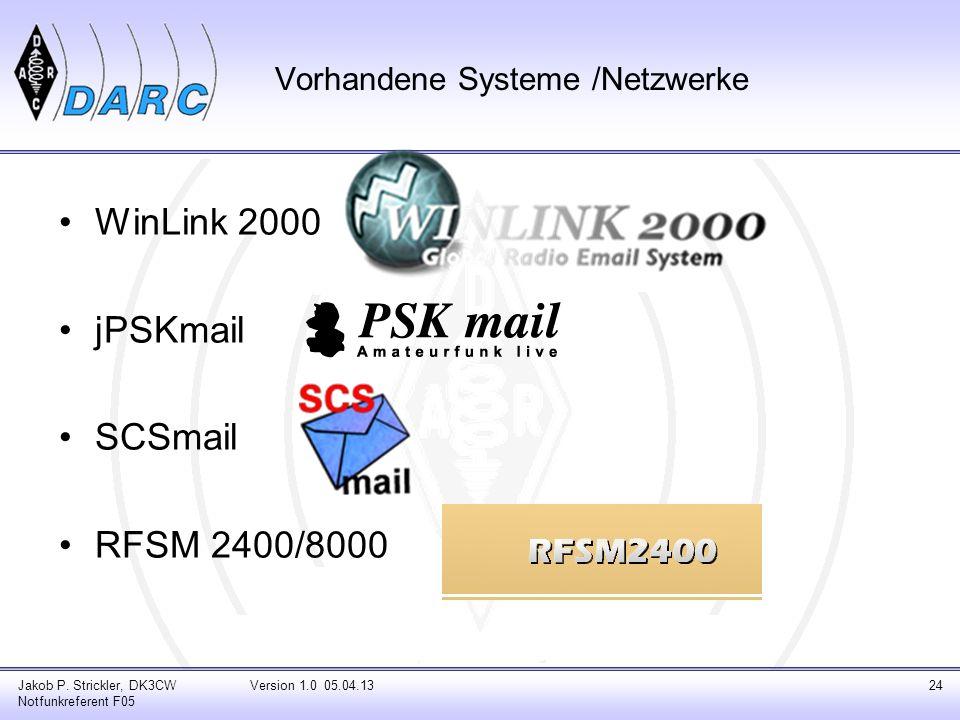 Vorhandene Systeme /Netzwerke
