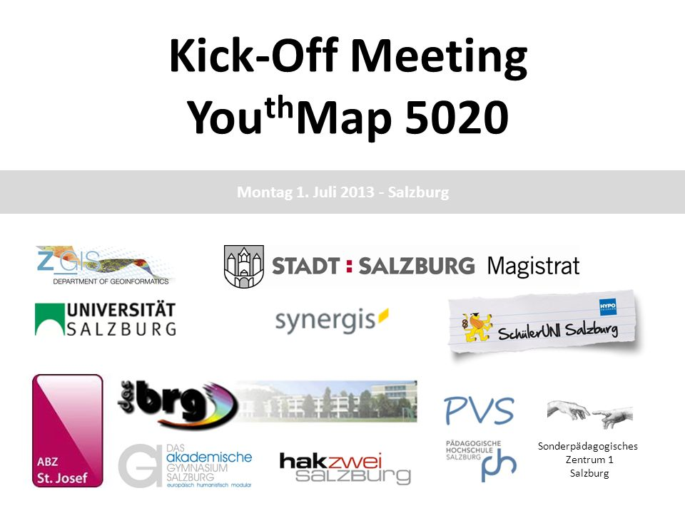 Kick-Off Meeting YouthMap 5020