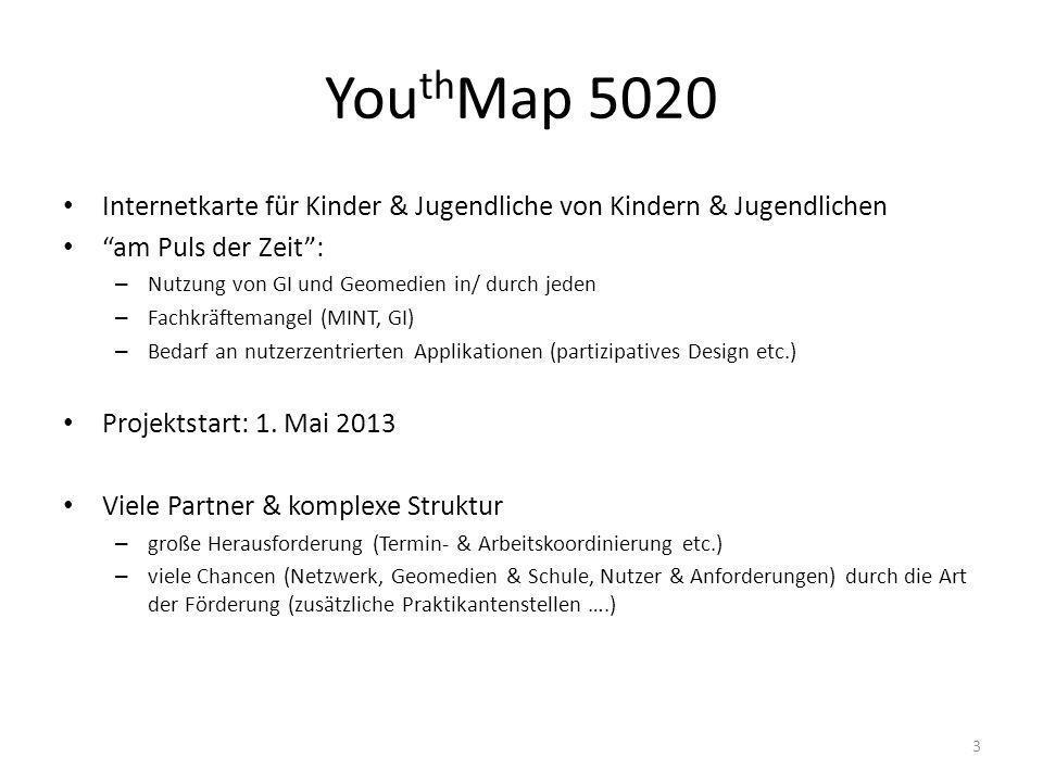YouthMap 5020 Internetkarte für Kinder & Jugendliche von Kindern & Jugendlichen. am Puls der Zeit :