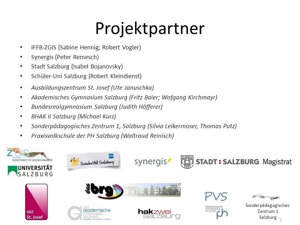 Projektpartner IFFB-ZGIS (Sabine Hennig; Robert Vogler)