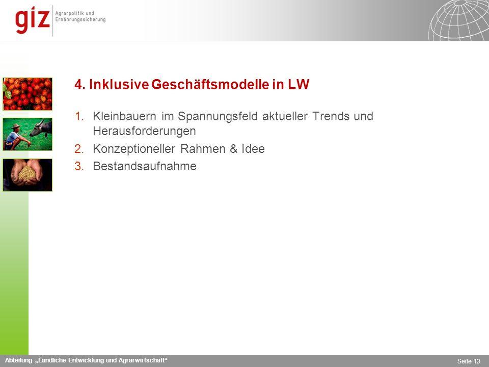 4. Inklusive Geschäftsmodelle in LW