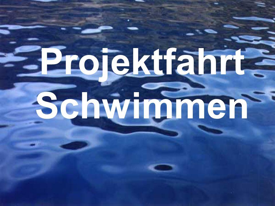 Projektfahrt Schwimmen