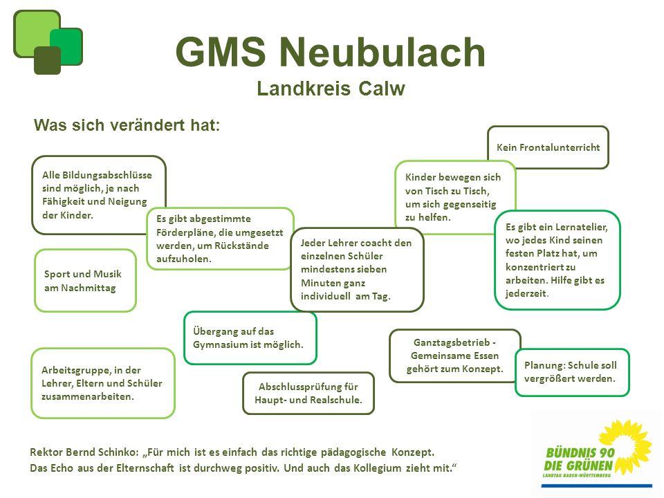 GMS Neubulach Landkreis Calw