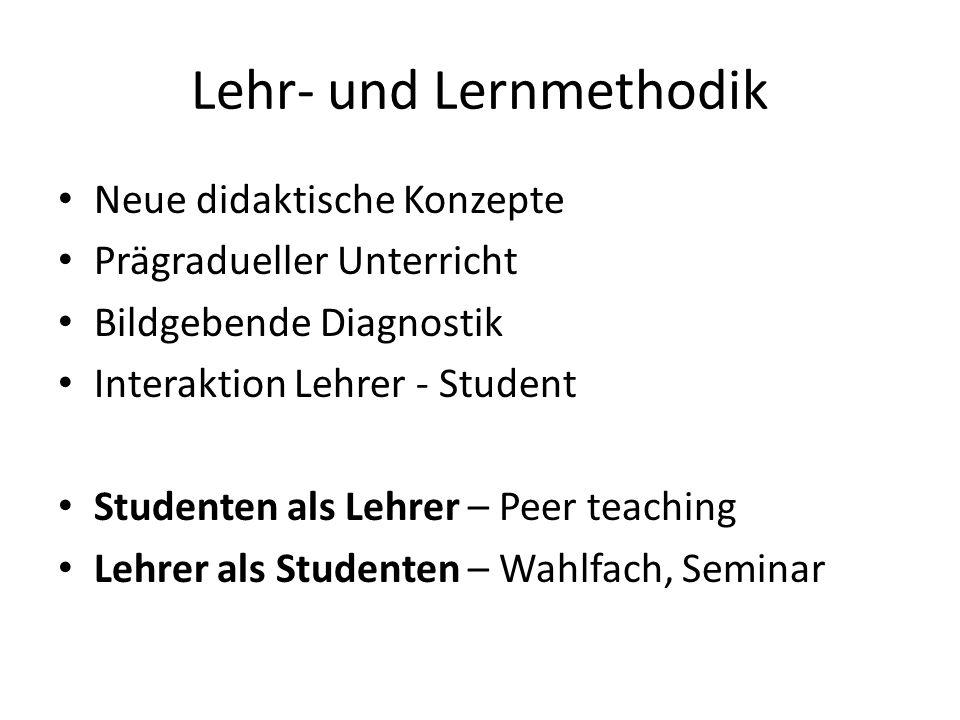Lehr- und Lernmethodik