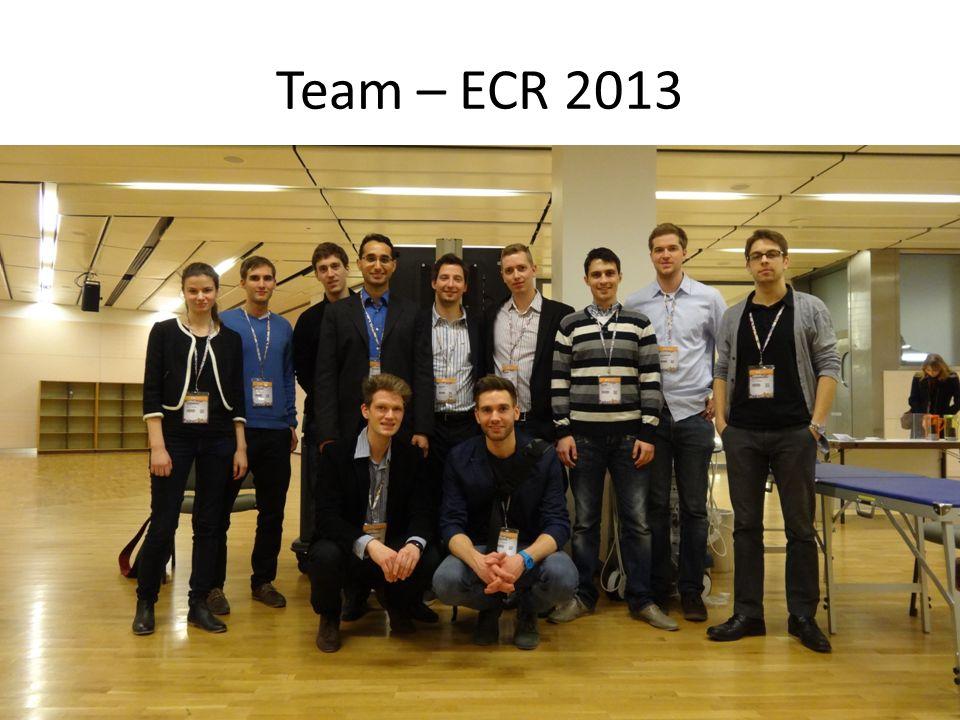 Team – ECR 2013
