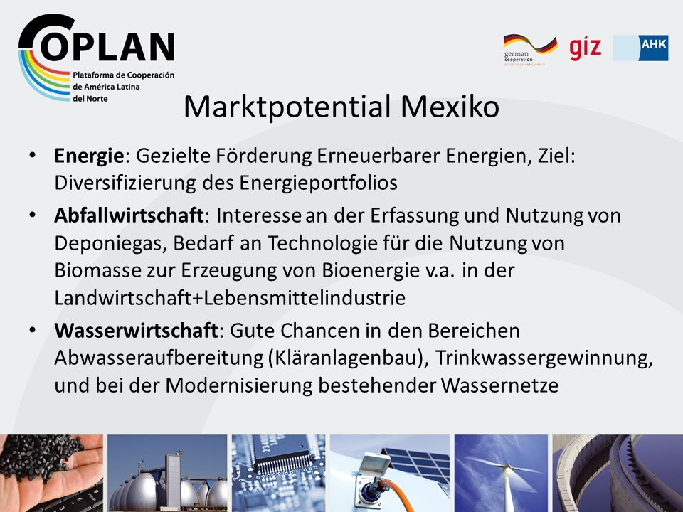 Marktpotential Mexiko