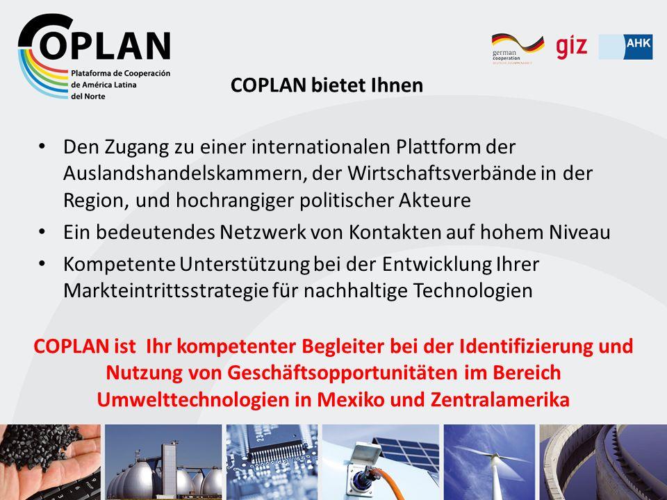 COPLAN bietet Ihnen