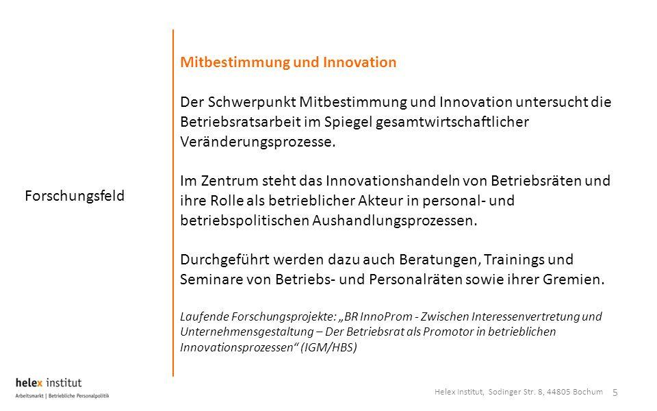 Mitbestimmung und Innovation
