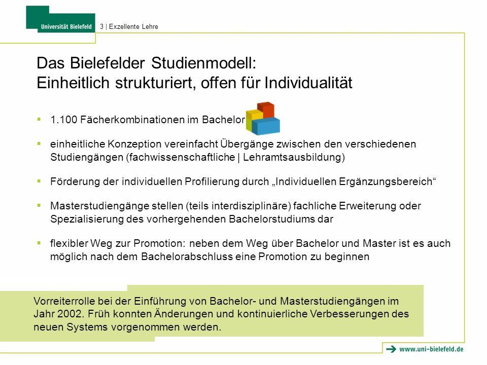 Das Bielefelder Studienmodell: