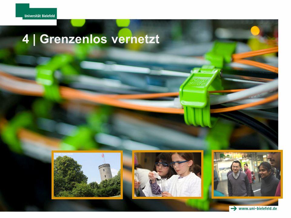 4 | Grenzenlos vernetzt Coypright: Campus Bielefeld