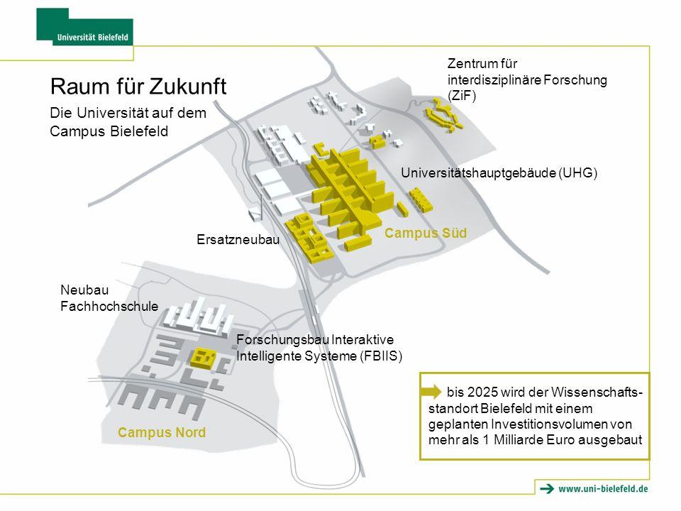 Raum für Zukunft Die Universität auf dem Campus Bielefeld