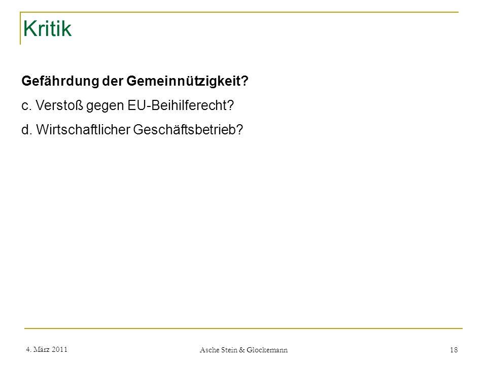 Asche Stein & Glockemann