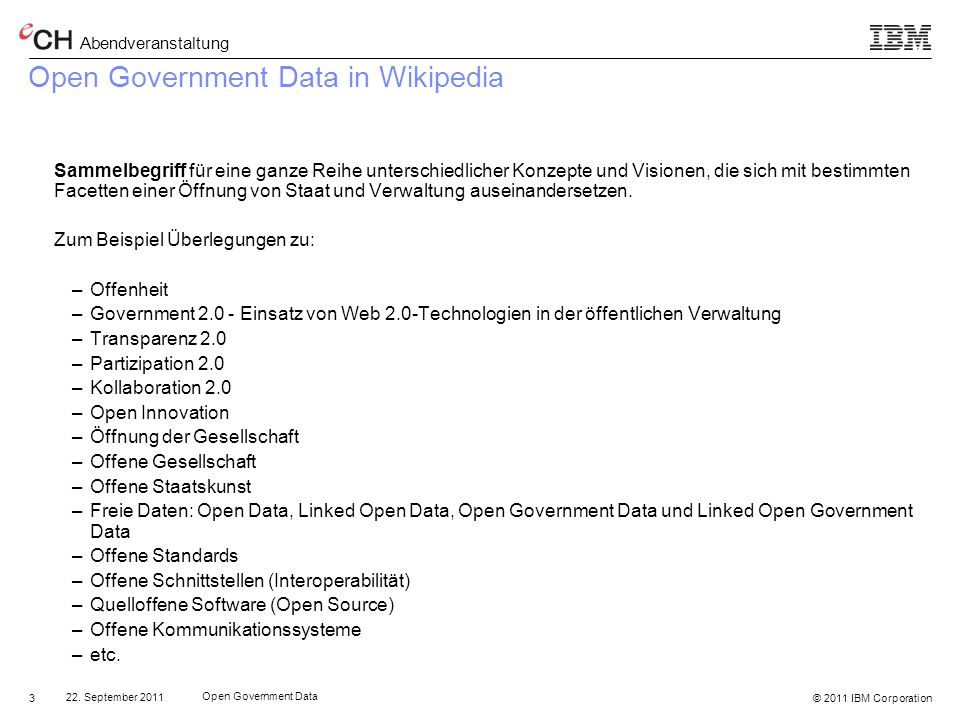 Open Government Data in Wikipedia