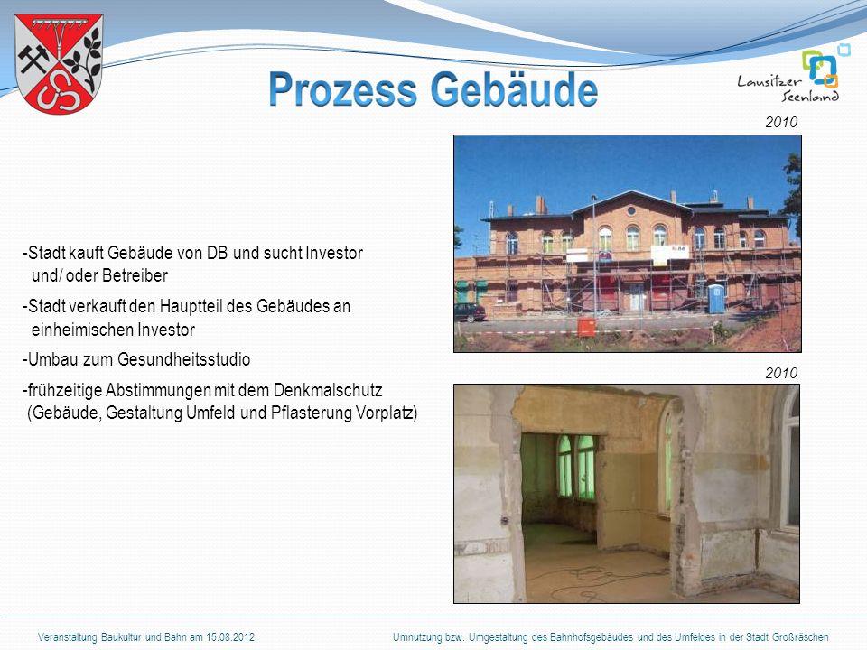 Stadt kauft Gebäude von DB und sucht Investor und/ oder Betreiber