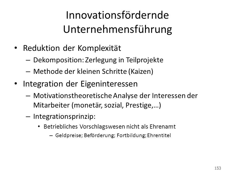 Innovationsfördernde Unternehmensführung
