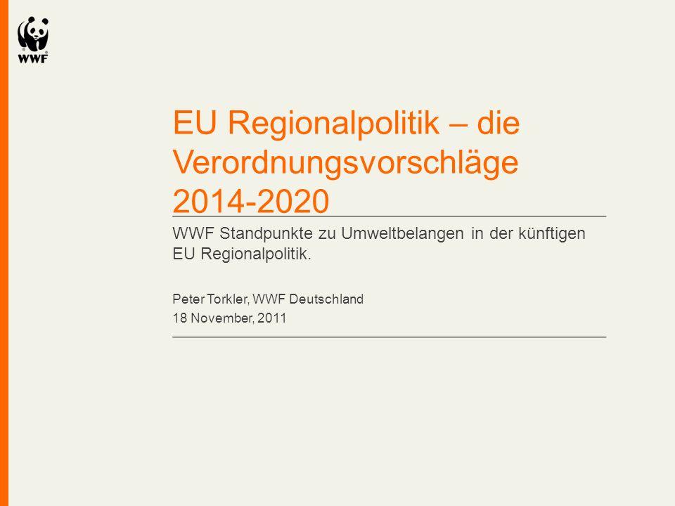 EU Regionalpolitik – die Verordnungsvorschläge 2014-2020