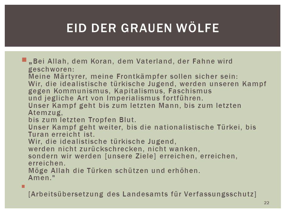 Eid der Grauen Wölfe