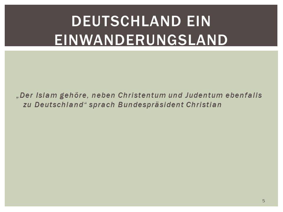 Deutschland ein Einwanderungsland
