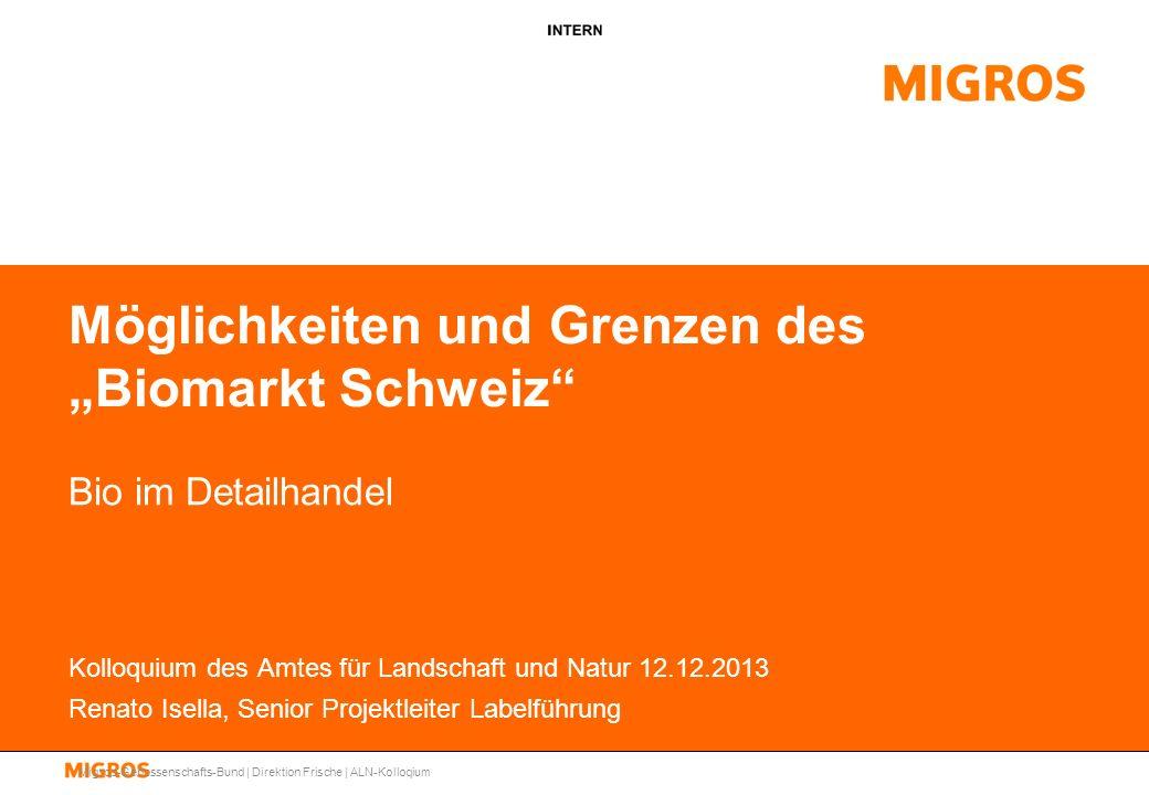 """Möglichkeiten und Grenzen des """"Biomarkt Schweiz"""