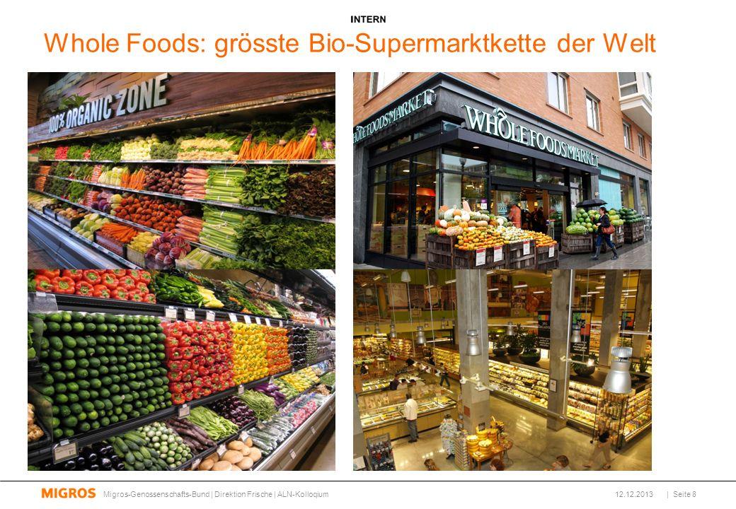 Whole Foods: grösste Bio-Supermarktkette der Welt
