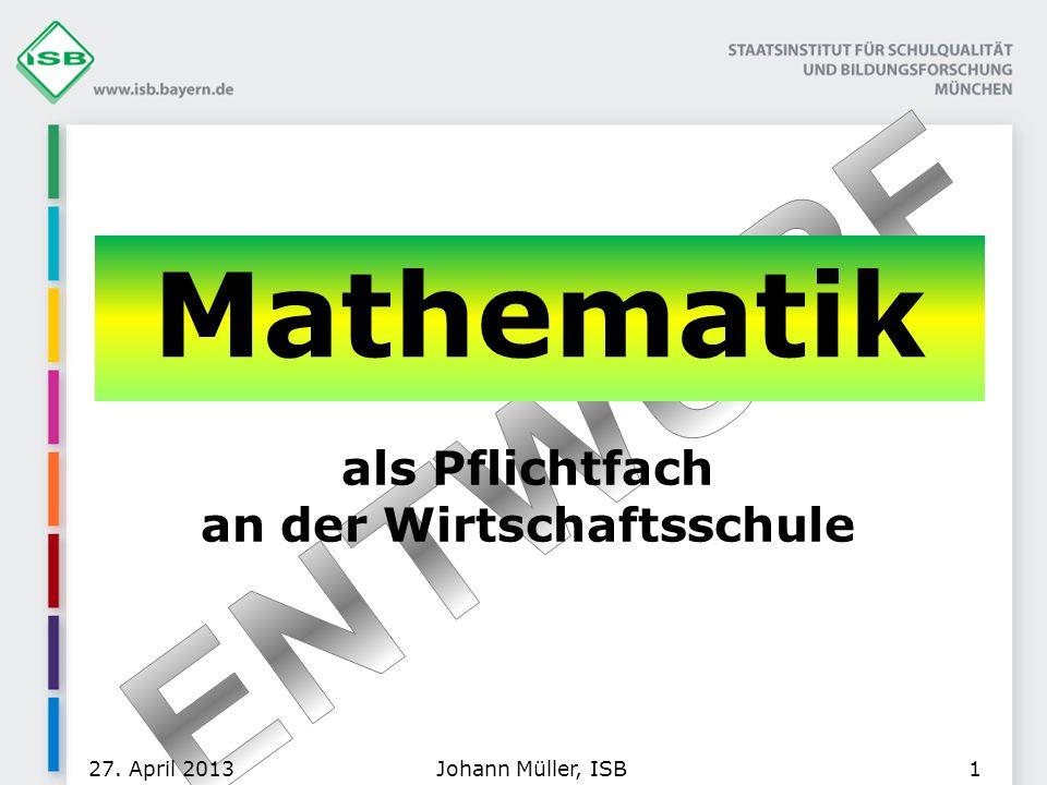13. Tag der Bayerischen Writschaftsschulen
