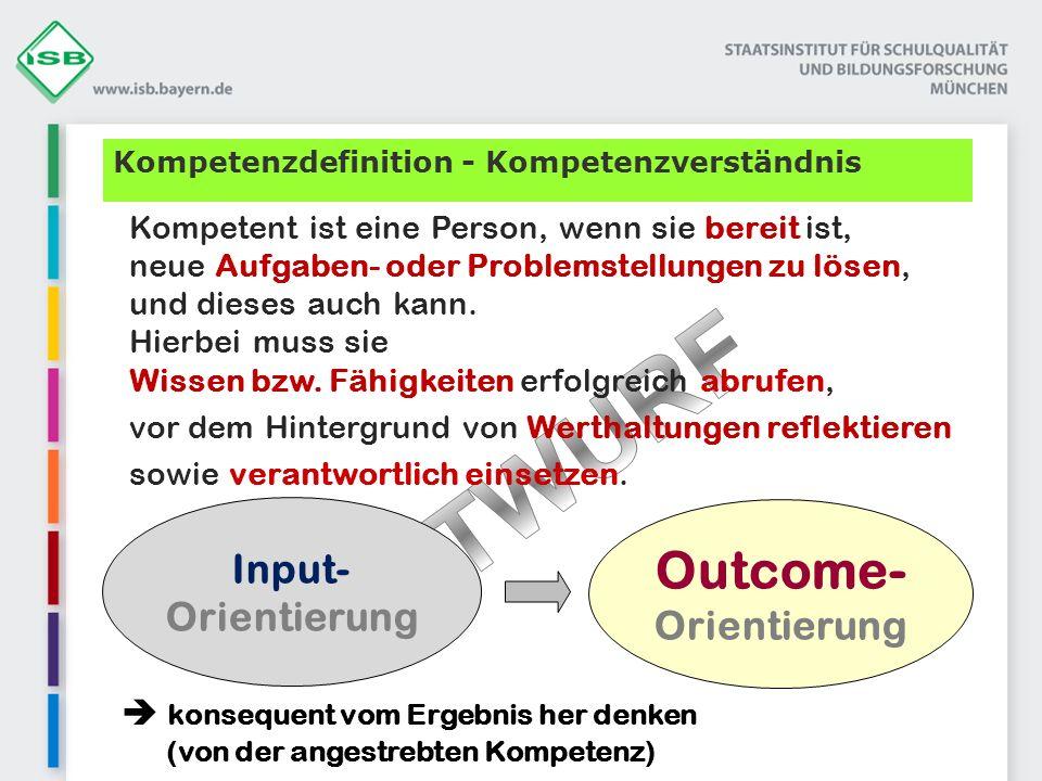 Outcome- Orientierung