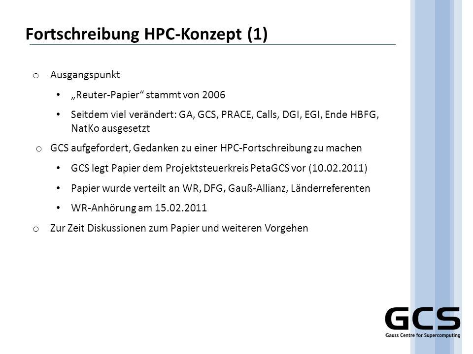 Fortschreibung HPC-Konzept (1)