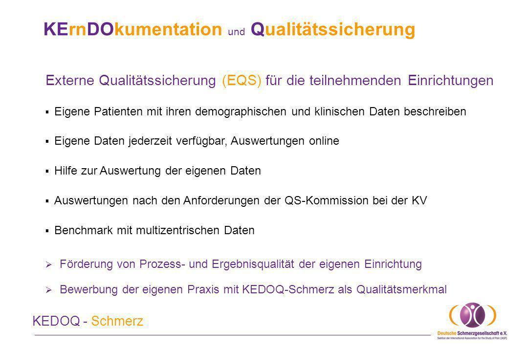 KErnDOkumentation und Qualitätssicherung