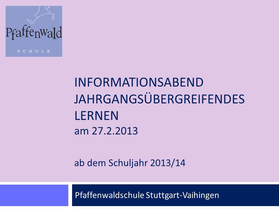 Pfaffenwaldschule Stuttgart-Vaihingen