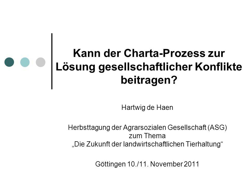 Kann der Charta-Prozess zur Lösung gesellschaftlicher Konflikte beitragen