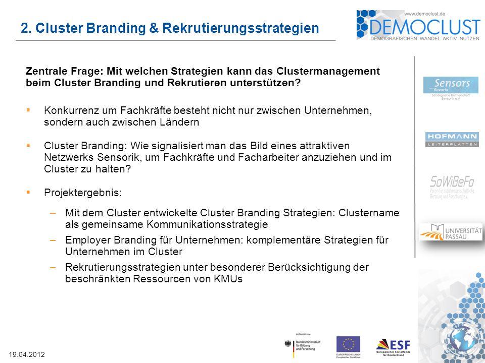2. Cluster Branding & Rekrutierungsstrategien