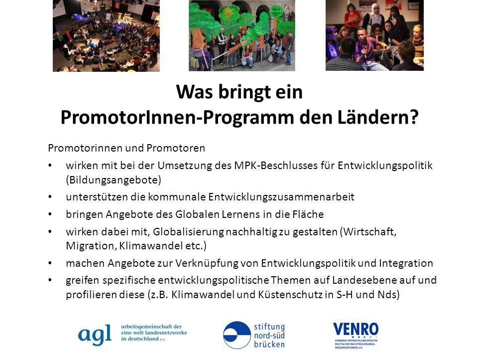 Was bringt ein PromotorInnen-Programm den Ländern