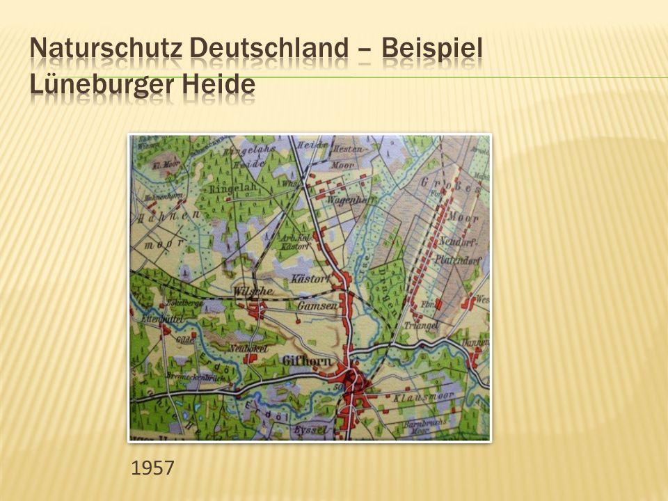 Naturschutz Deutschland – Beispiel Lüneburger Heide