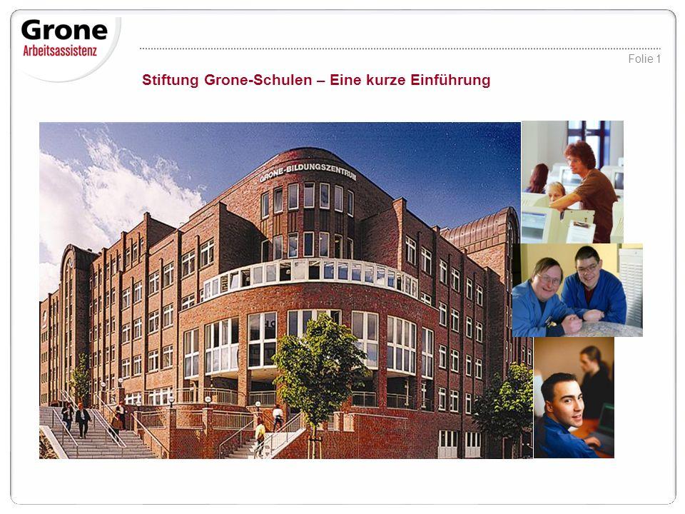 Stiftung Grone-Schulen – Eine kurze Einführung
